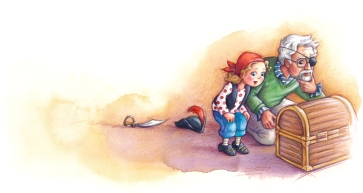 """Illustration pour le livre """" Où est la clé"""", aux Éditions Isatis"""