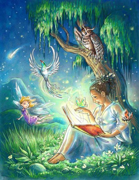 Illustration d'une histoire pour Pascale Guérard